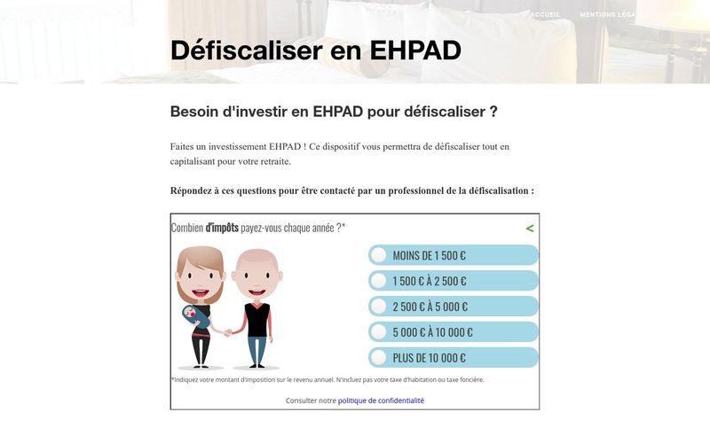 Les avantages fiscaux d'un investissement en EHPAD