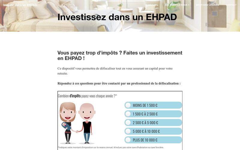 Investissez dans un EHPAD